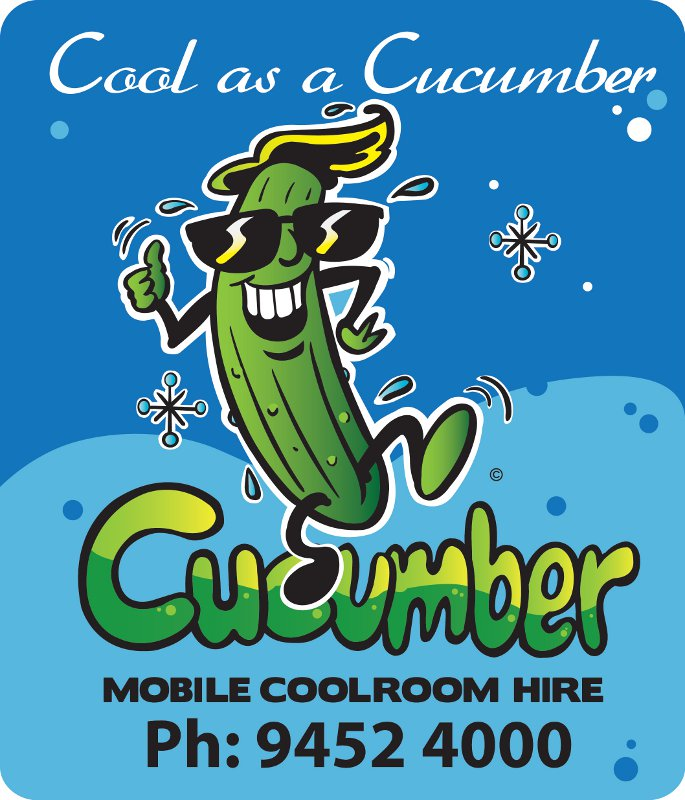 Cool Cucumber Sticker
