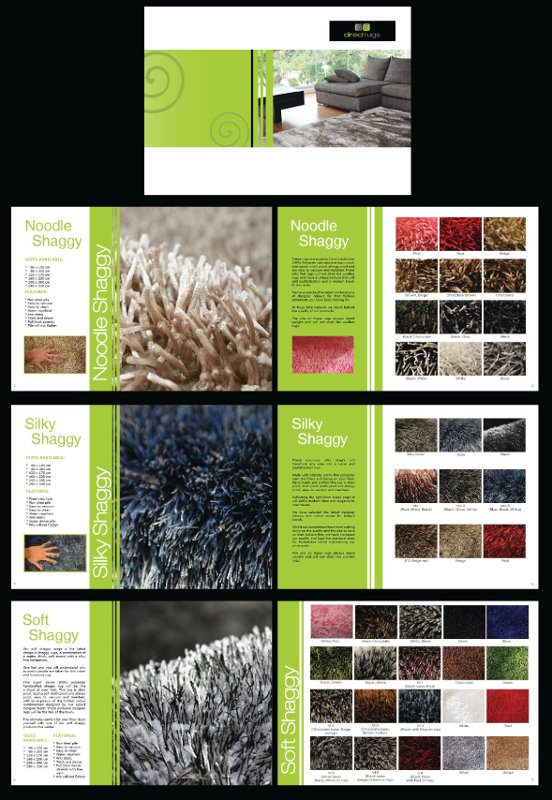 Direct Rugs Catalogue Example Only