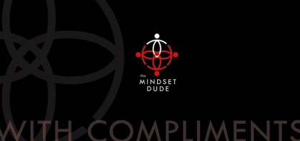 Mindset Dude Front With Compliments Slip