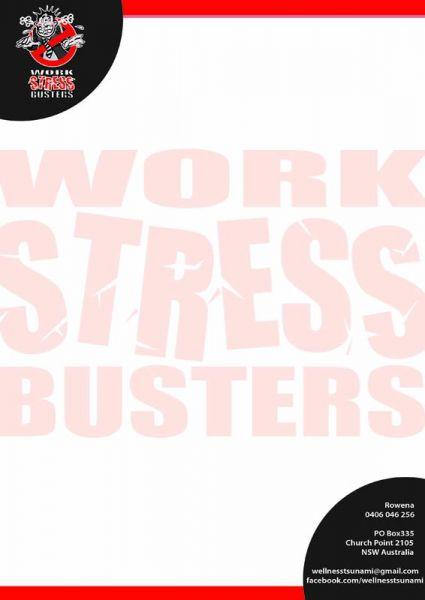 Stress Busters letterhead
