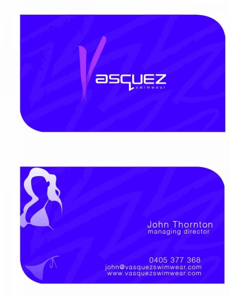 Vasquez BCard Front and Back