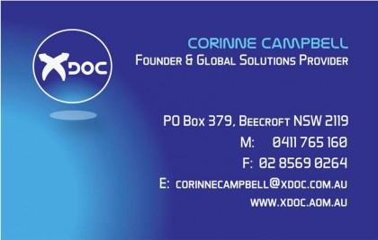 XDoc BCard Back