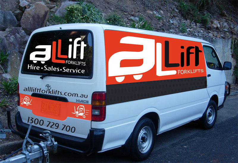 all lift van back